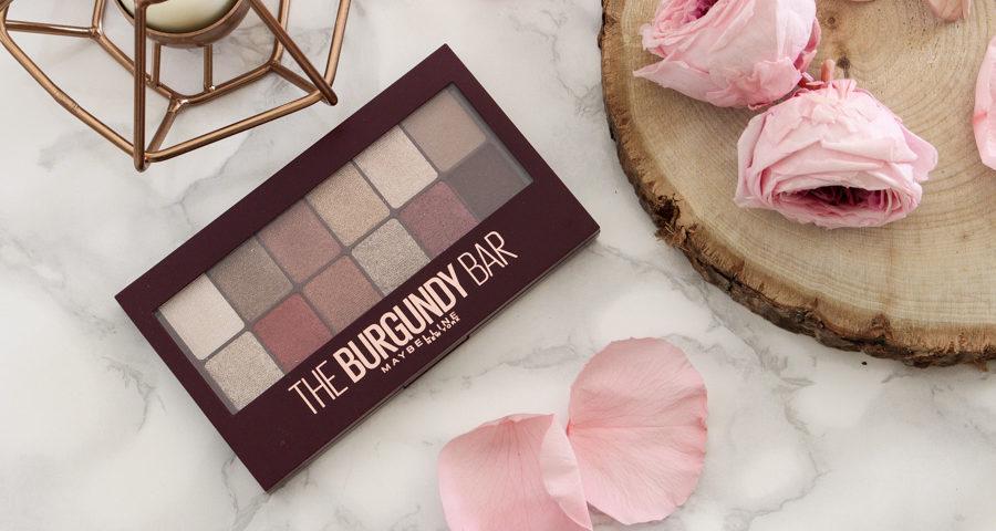 palette maybelline the burgundy bar blog