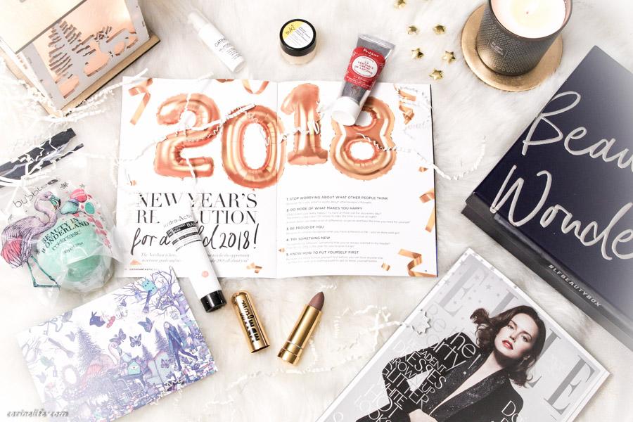 lookfantastic beauty box décembre 2017 contenu