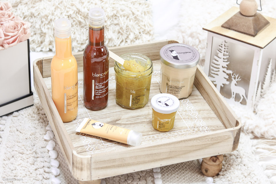 Blancrème gamme miel amande avis
